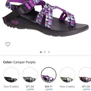 Purple Chacos Size 9